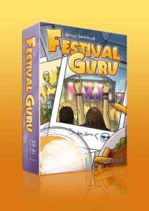 Festival Guru fängt die Atmosphäre von Open Airs für den Spieltisch ein - mit der Musik von echten Bands