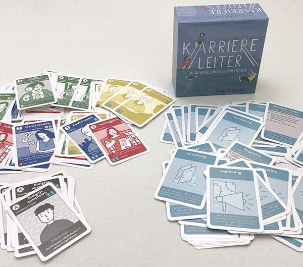 Kartenspiel Karriereleiter von Wonderland Spiele