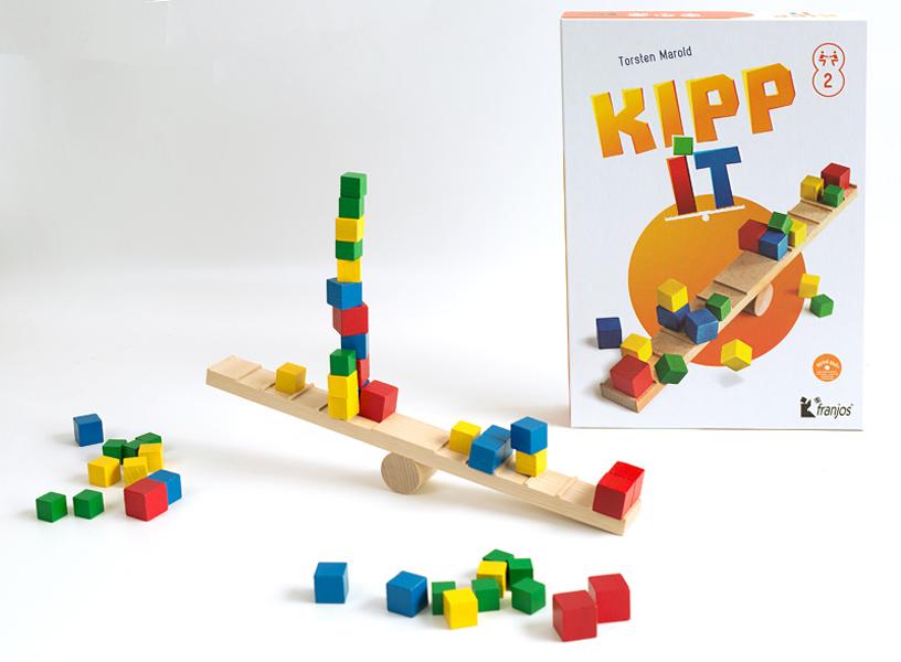 Kipp it - spannendes Geschicklichkeitsspiel