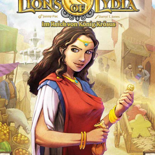 Lions Of Lydia - Brettspiel von Spielefaible
