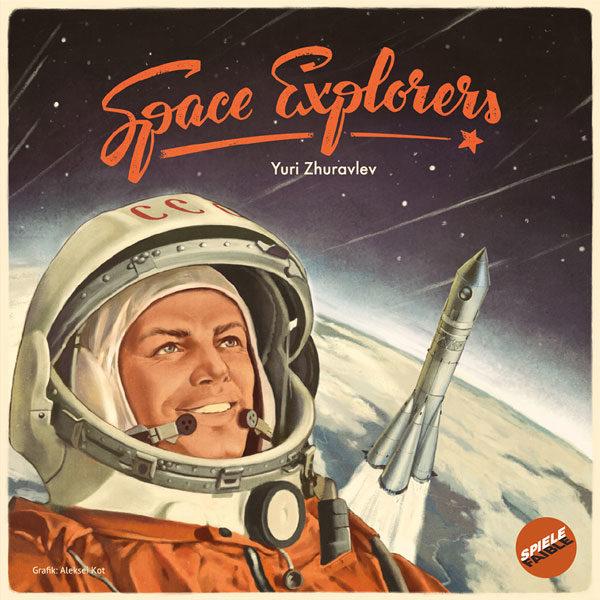 """""""Space Explorers"""" von Yuri Zhuravljov ist eine Hommage an Anfänge der Raumfahrt und erscheint bei Spielefaible"""